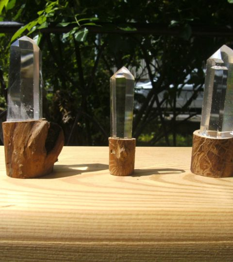 Bergkristall-Doppelender