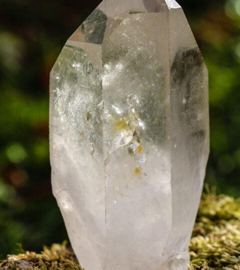 Bergkristall-Einzelspitze