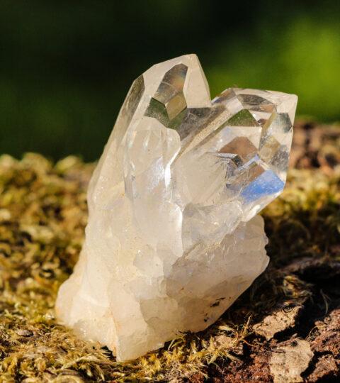 Bergkristall-Grüppchen